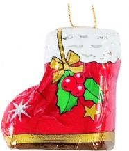 Storz Chocolate Foiled Santa's Boot Tree Decoration